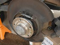 Wagon Hand Brake Wheel