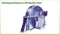 Disintegrator/hammer Oil Expeller Plant