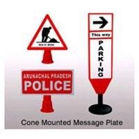 Message Plates, Message Cones