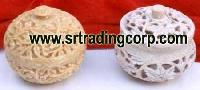 Carved Stone Boxes - 01