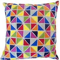 Cotton Emb Cushion Cover