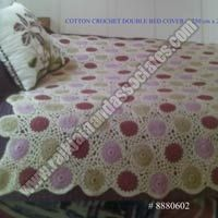 Cotton Crochet Bed Cover