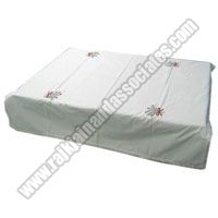 Cotton Embroidered Table Cover