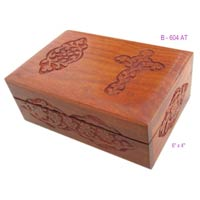 Wood Cross Box