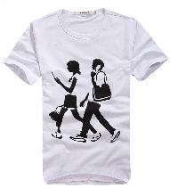 Printed t shirts manufacturers suppliers exporters in for Work t shirt printing