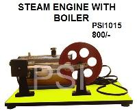 Steam Engine With Boiler