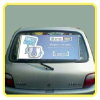 Promotional Printed Roller Car Sunshade,sunscreen,sticker