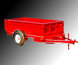 Non Tipping Tractor Trailer