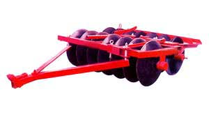 Trailed Offset Disc Harrow