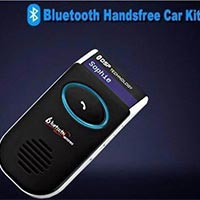 033 Car Bluetooth Handsfree Kit With Solar Charger