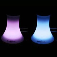 588 Speaker with Led Light Flower Pot Style