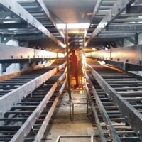 FRP Cable Tray Fabrication