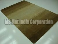 Multi Brown Handloom Woolen Carpet