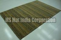 Beige Brown Handloom Woolen Carpet
