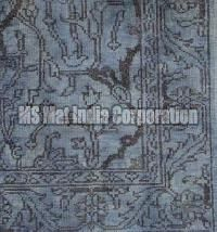Grey Hand Knotted Woolen Carpet