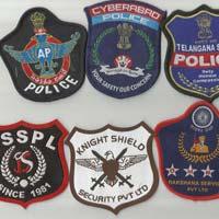 Police Cloth Badges