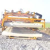 Railway Track Construction Machine
