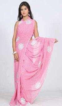 Baby Pink Saree with Resham Work