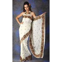 Crepe Party Wear Saree
