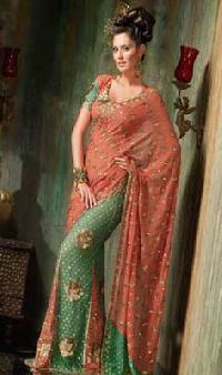 Faux Party Wear Saree