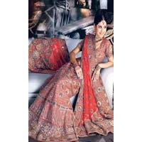 Lehenga Choli (with Heavy Resham Work)