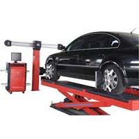 Wheel Alignment Machine