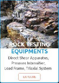 Rock Testing Equipments