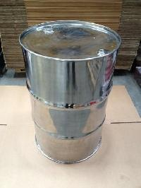 Closed Top Stainless Steel Barrel