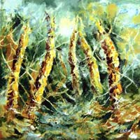 Roots Oil Painting