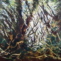 Disturbed Oil Painting