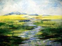 Springtime Oil Painting