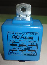 Automotive Dual Lamp Relay