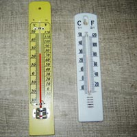 Wall Thermometer On Wooden and Pp Base