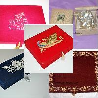 Embroidered Gift Box