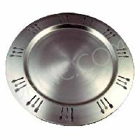 Stainless steel charger plate manufacturers suppliers for Decor international sonepat