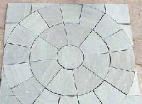 Sandstone Patio Circle - Jahnvi Exports