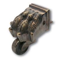 Brass Castor