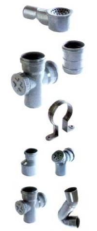Soil, Waste & Rain Water Pipe Fittings