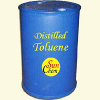 Distilled Toluene, Recovered Toluene - Sun Chem India Solvents