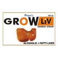 Grow Liv Alcoholic Fatty Liver Syrup