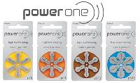 Power One Hearing Aid Battery