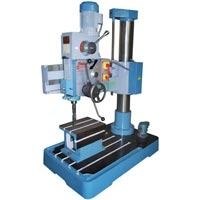 38mm all geared radial drill machine with auto feed and single column