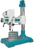 40 Mm Backgeared with fine Feed Radial Drill Machine