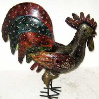 Wrought Iron Hen