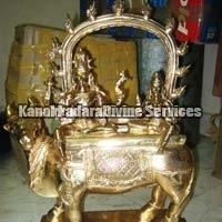 Bronze Panchdhatu Idol