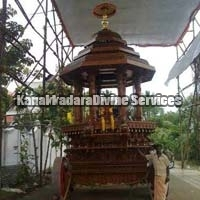 Teak Wood Temple Chariot