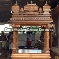 Wooden Puja Mandap