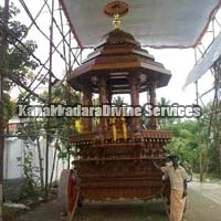 Wooden Temple Chariot