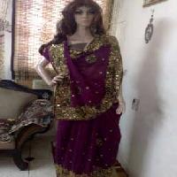 Zari Embroidered Sarees