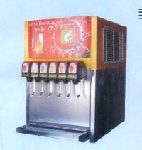 Six Valve Beverage Vending Machine